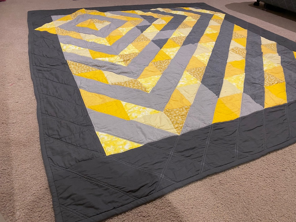 Another view of the quilt.